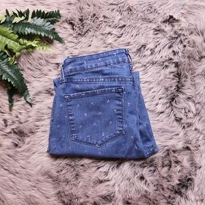 NYDJ Ankle Jeans Size 8 Anchor Print
